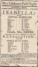 Mrs Siddons in Isabella
