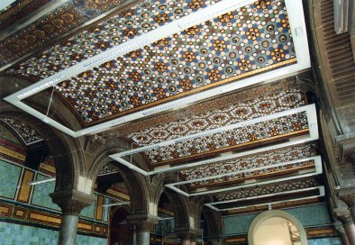 Tiled Hall Ceiling