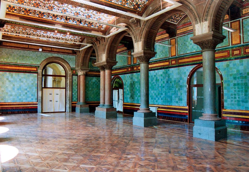 Leeds Central Library - Tiled Hall