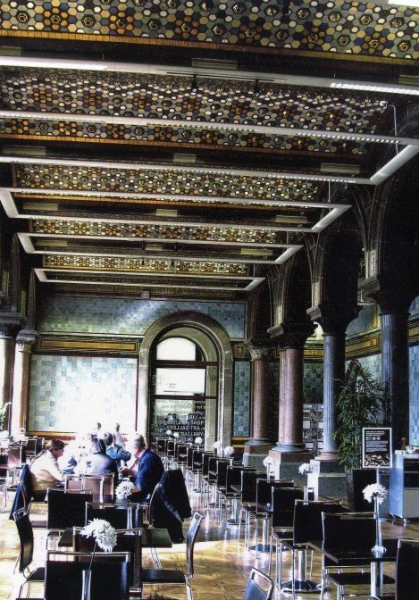 Central Library Tiled Hall Cafe - Current