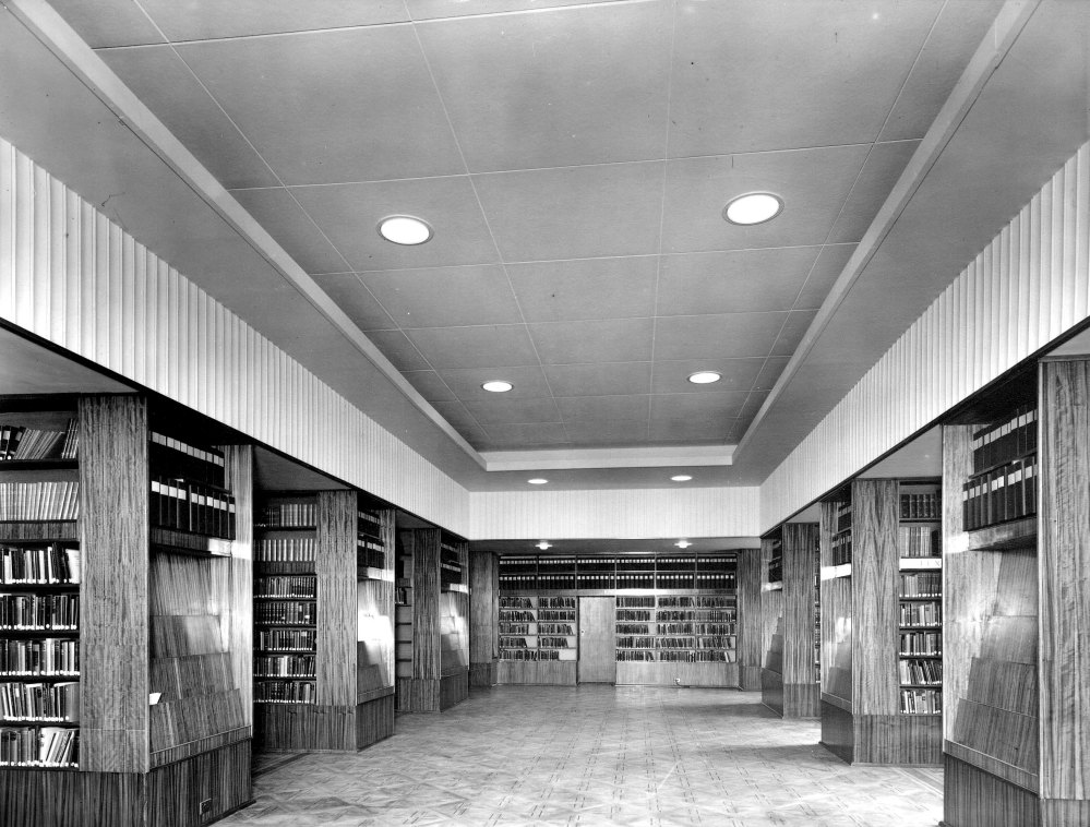 Commercial & Technical Library - 1955