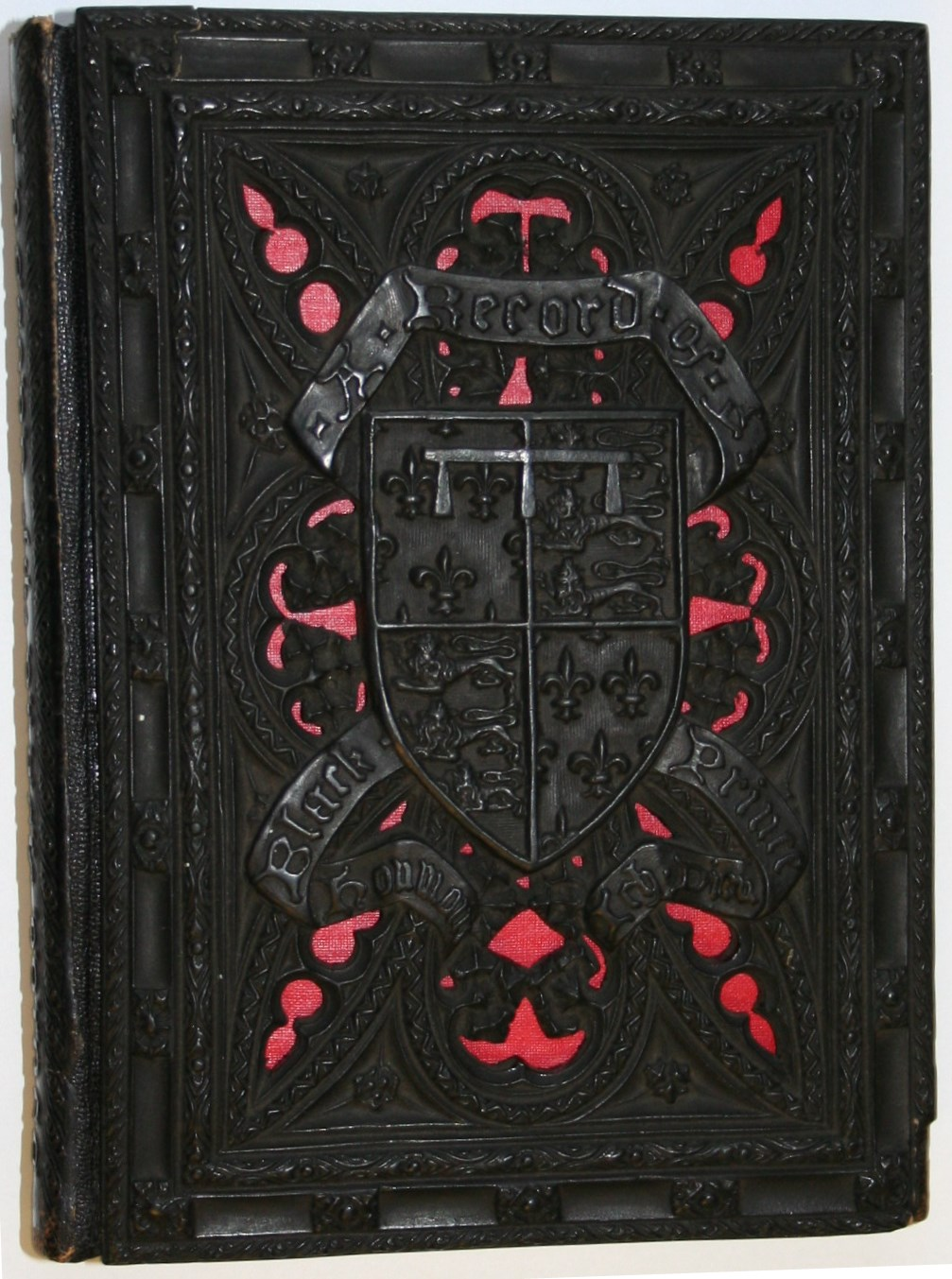 Beautiful bindings a record of the black prince the for Beautiful binding