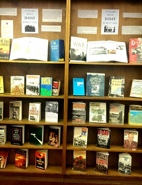 D-Day Display - Information & Research Library