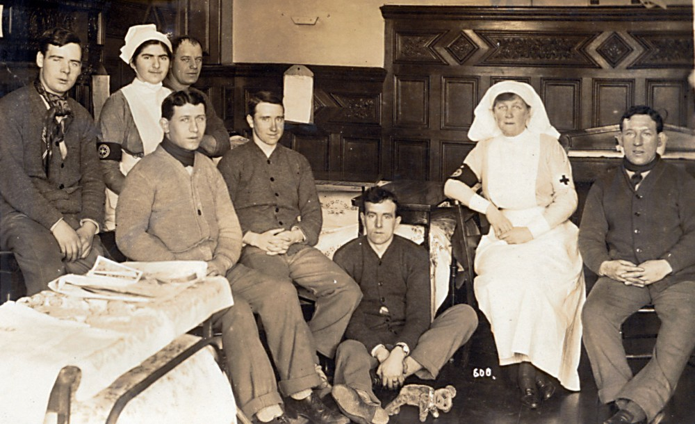Edith Cliff with patients