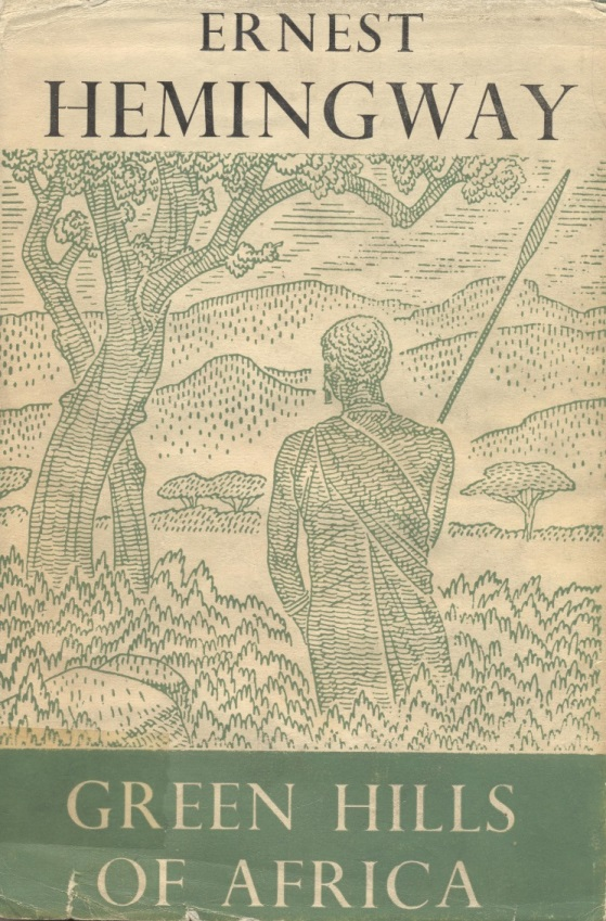 1950s edition of 'Green Hills of Africa'
