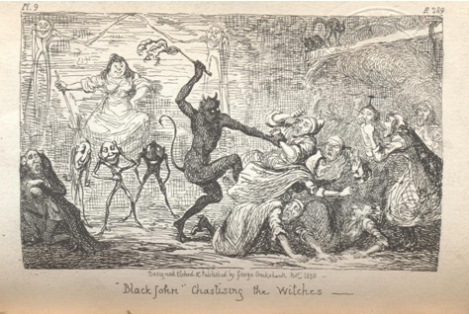 Illustration from Scott's Letters on Demonology and Witchcraft