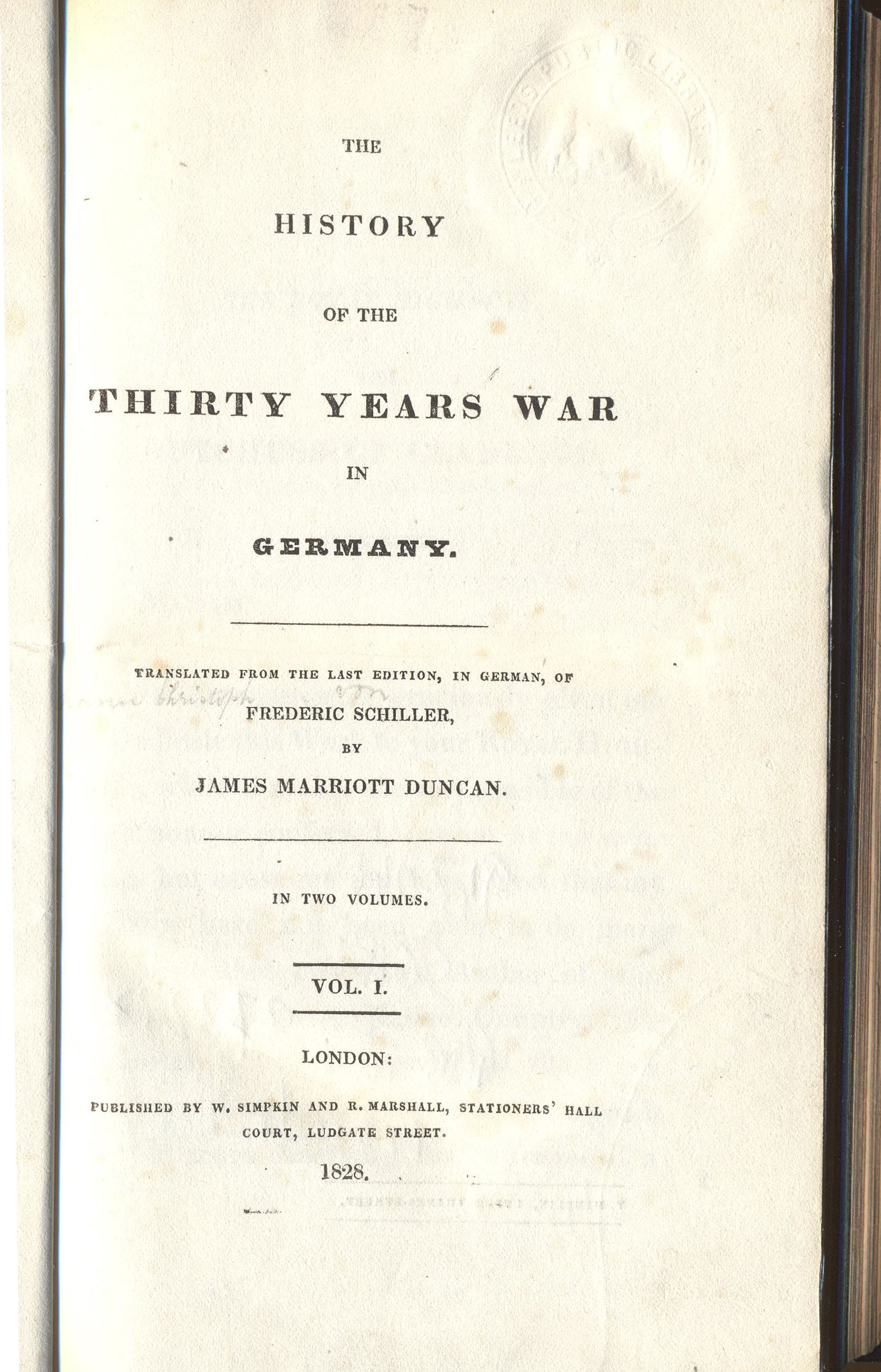 more the thirty years war the secret library history of the thirty years war in
