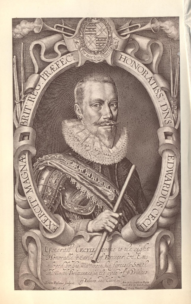Image of Sir Edward Cecil, taken from the 'Life and Times of General Sir Edward Cecil; Viscount Wimbledon'