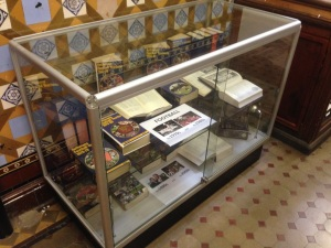 Rothmans Football Yearbooks display