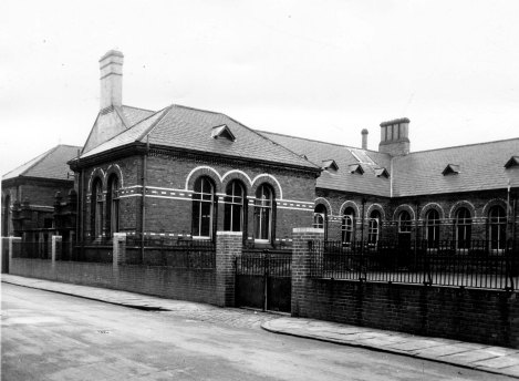 Bewerley Street Infants School, Bewerley Street – built 1873