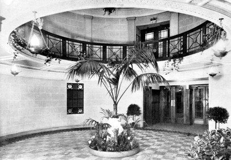 Majestic Cinema foyer, 1923