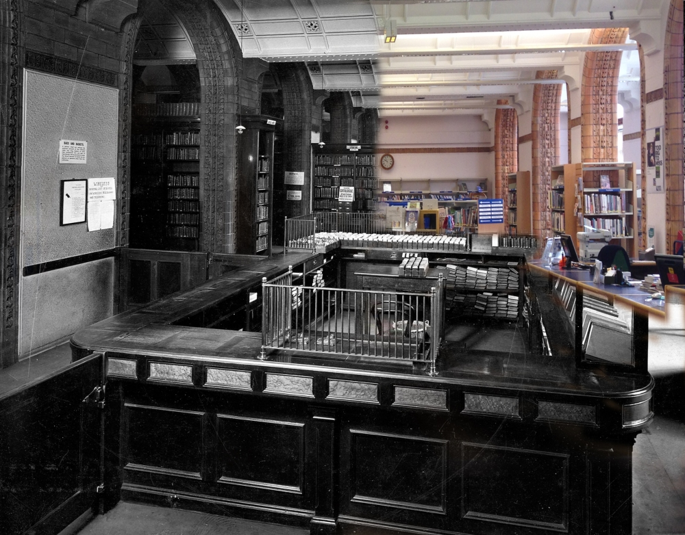 Art Library then and now