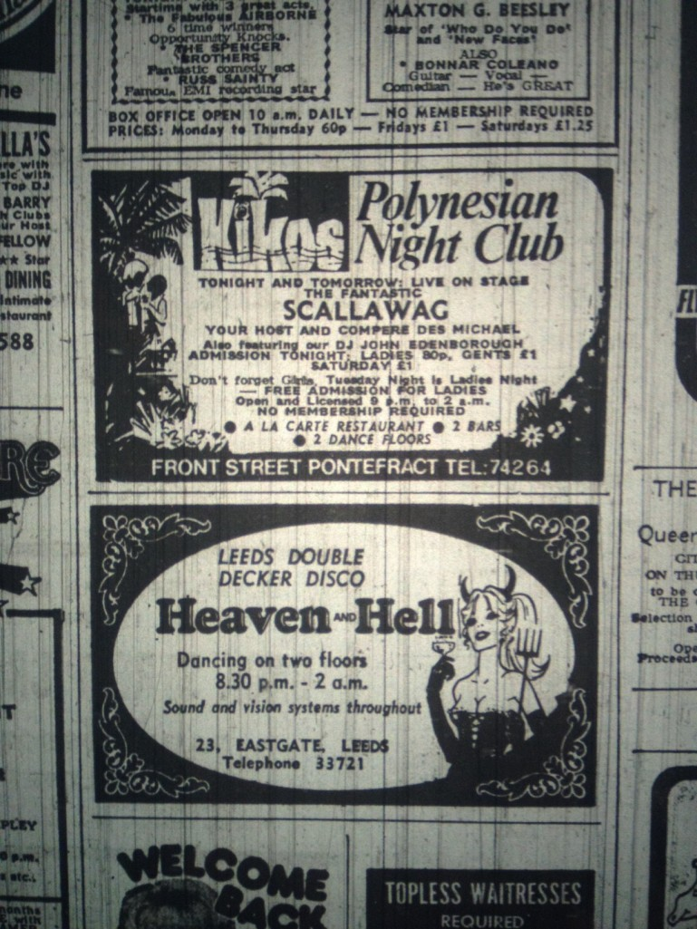 Advert for Heaven-Hell