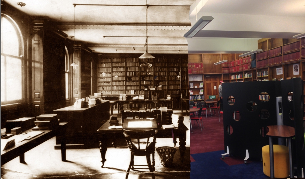 Current Information and Research library, then and now