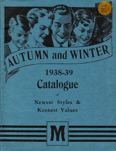 Autumn-Winter Catalogue, 1938-39