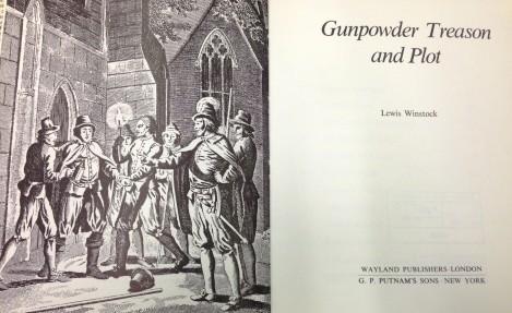 Gunpowder treason and plot