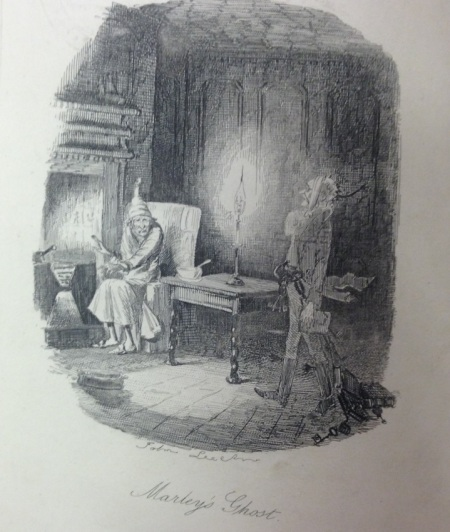 Edwin Landseer illustration from 'A Christmas Carol'