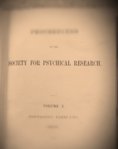 Frontispiece of first volume of Proceedings