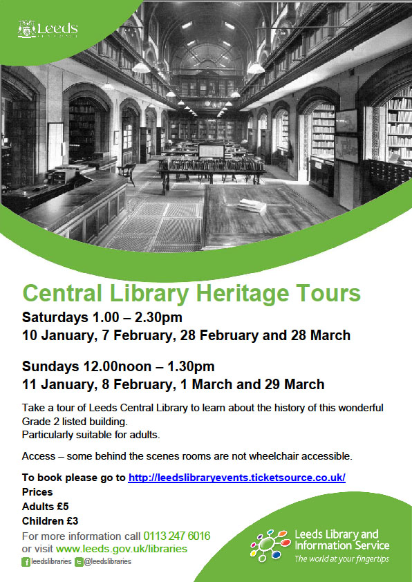 Central Library heritage tours