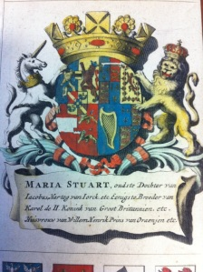Coat of Arms, Maria Stuart, Mary II of England, 1689