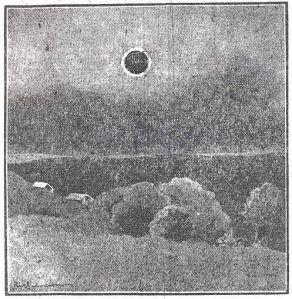 """""""Drawn at the Astronomer Royal's Camp at Giggleswick, North Yorkshire"""""""