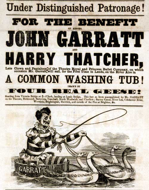 John Garratt sailing the River Aire