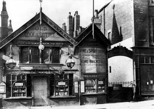 Cock and Bottle Inn, c1906