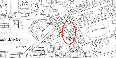Somerset Street area, 1910