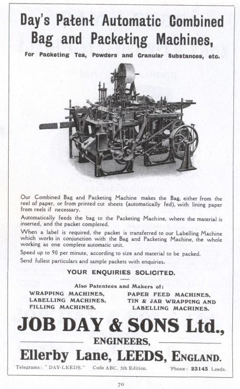 Day packing machine advert