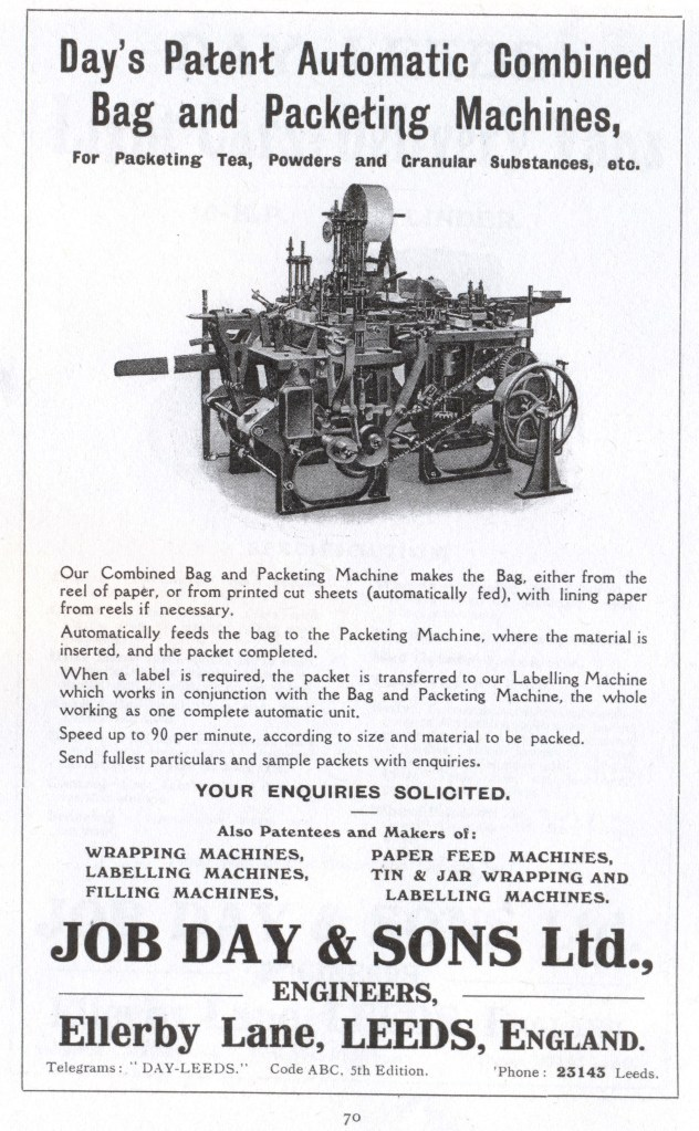 Day packing machine advert