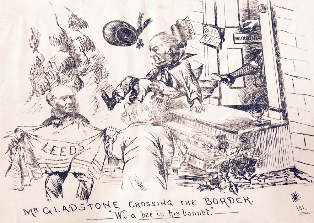 A sample from our extensive collection of prints satirising 19th-century Parliamentary elections in Leeds