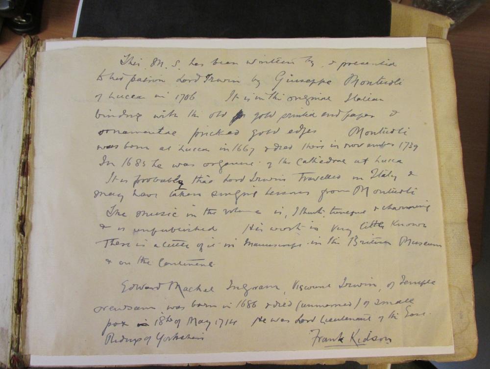 Montuoli Kidson Letter