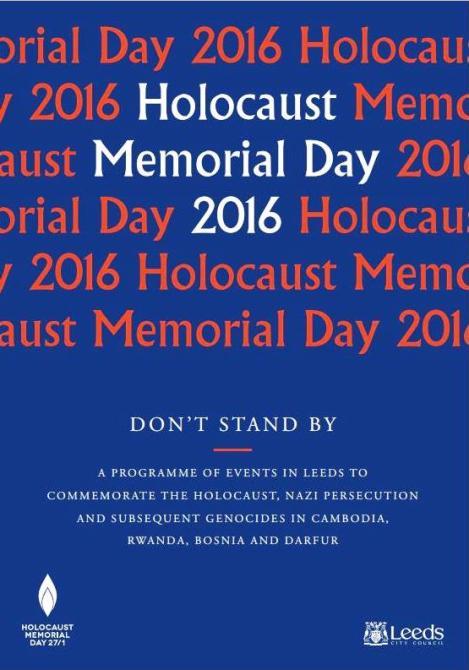 Holocaust Memorial Day LCC