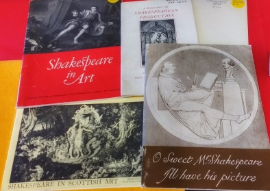 Some Shakespeare in Art pamphlets