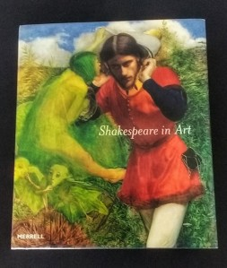 Ferdinand Lured by Ariel (The Tempest) by John Everett Millais, from the cover of 'Shakespeare in Art'