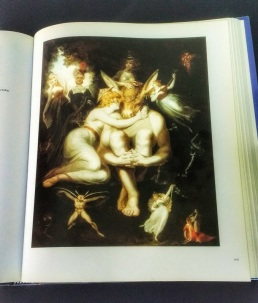 Titania Embracing Bottom (A Midsummer Night's Dream) by Henry Fuseli, pictured in 'Shakespeare in Art'