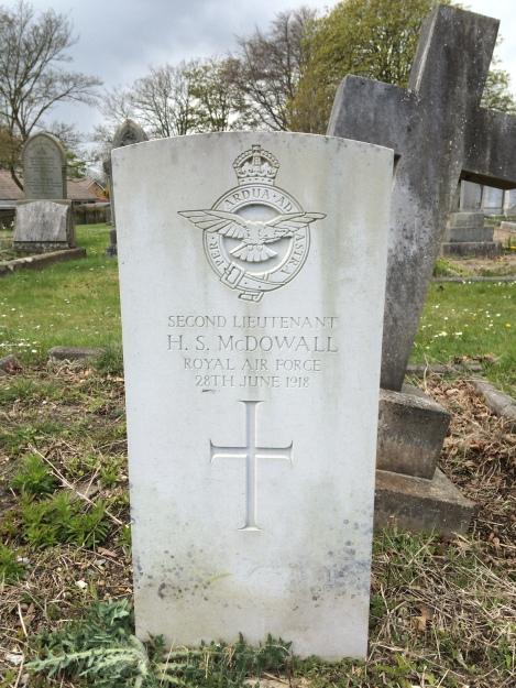 McDowall Grave Hornsea.2
