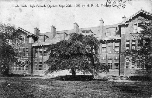 Leeds Girls' High School, 1906