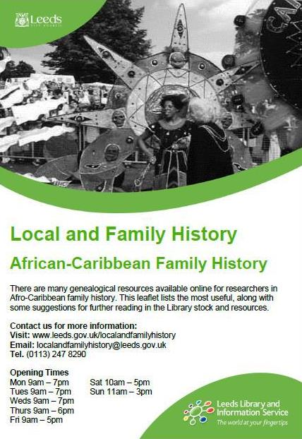 african caribbean research guide