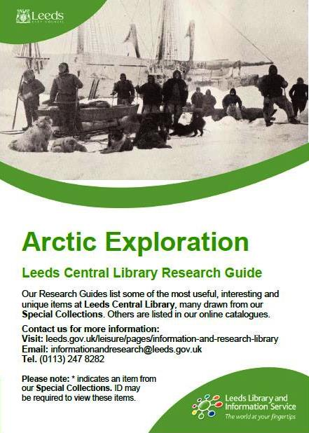 arctic exploration research guide