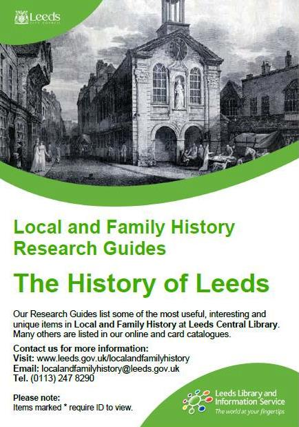 history of leeds research guide