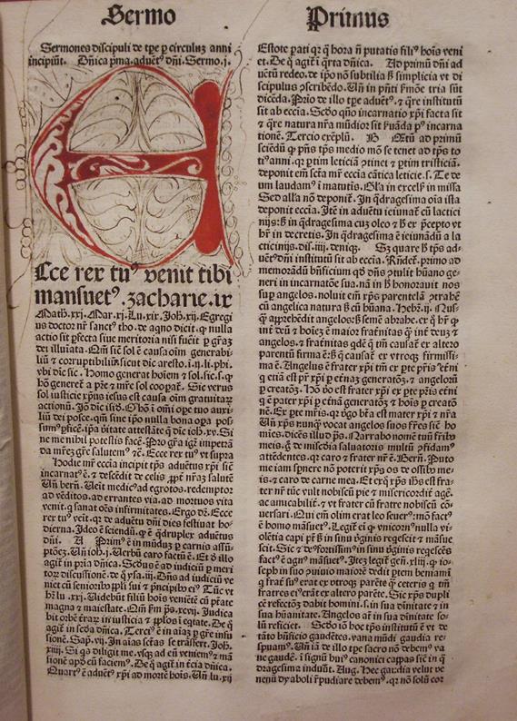 Sermones Discipuli - 1481