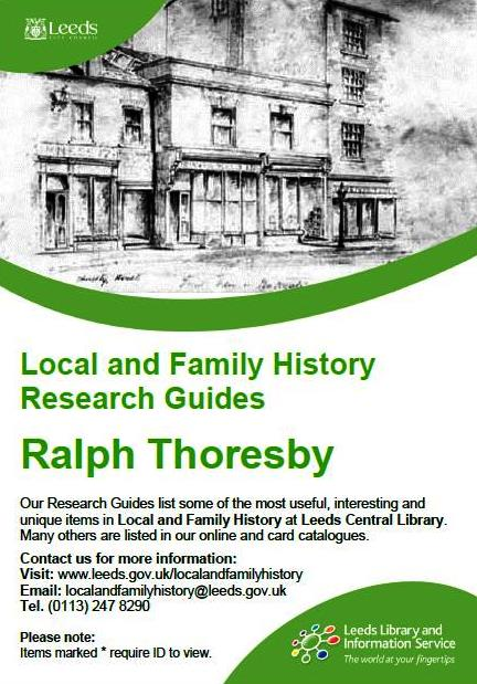 ralph thoresby research guide