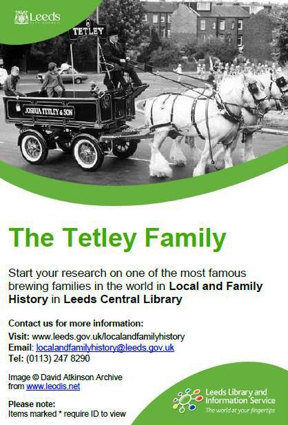 tetley research guide