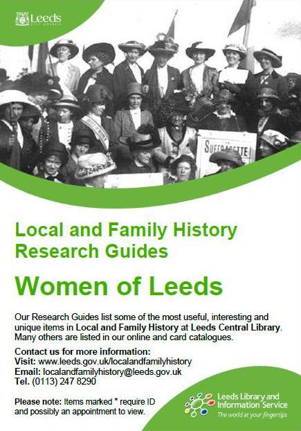 women of leeds research guide