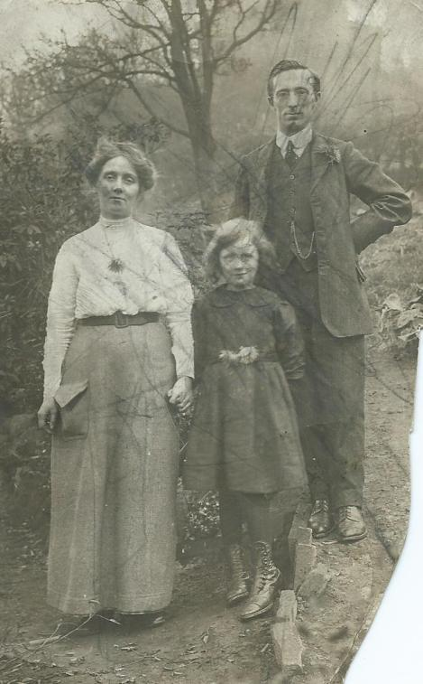 Maud, Mary and Ernest Dightam (no date)