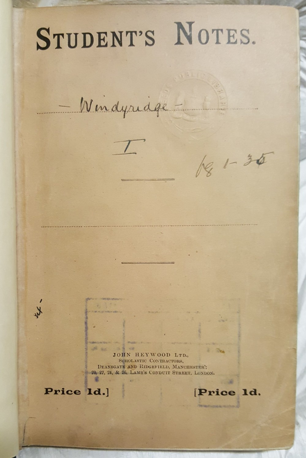windyridge-note-book