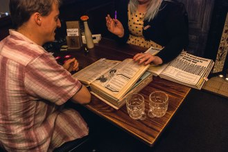 Speed-dating II, at Crowd of Favours, February 2017