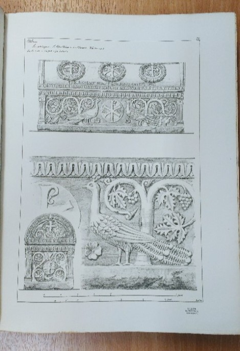 Illustration from 'Ancient Sepulchral Monuments'