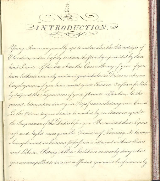 Penmanship page 1